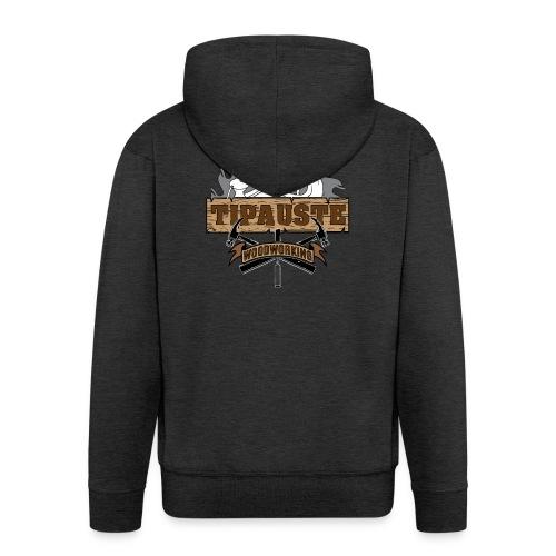 Logo Tipauste WoodWorking #1 - Veste à capuche Premium Homme