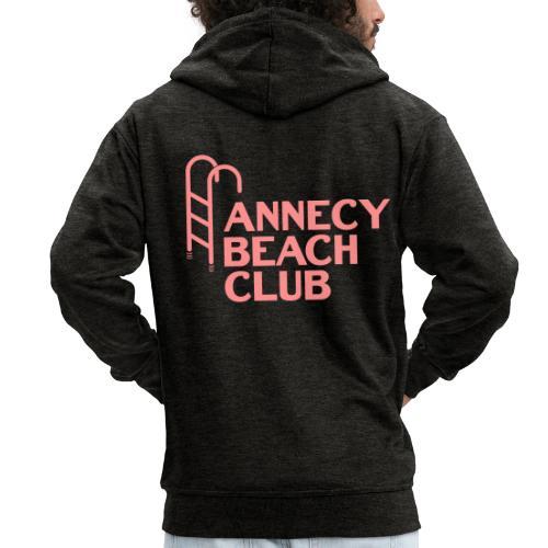 Annecy beach club - natation - Veste à capuche Premium Homme