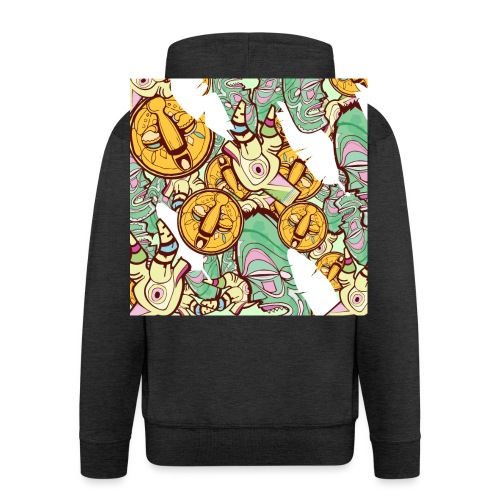 Mask Factory - Day Edition - Men's Premium Hooded Jacket