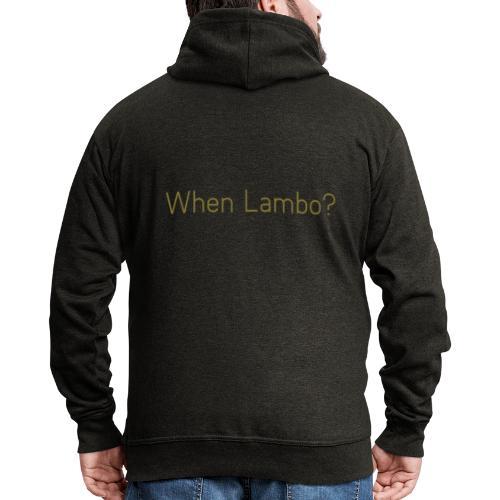 When Lambo? Design - Mannenjack Premium met capuchon