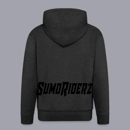 Schrift SumoRiderz - Männer Premium Kapuzenjacke