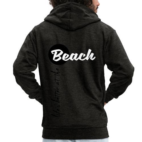 Strandleben - Männer Premium Kapuzenjacke