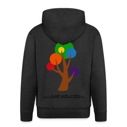 Just Educate.ie - Men's Premium Hooded Jacket