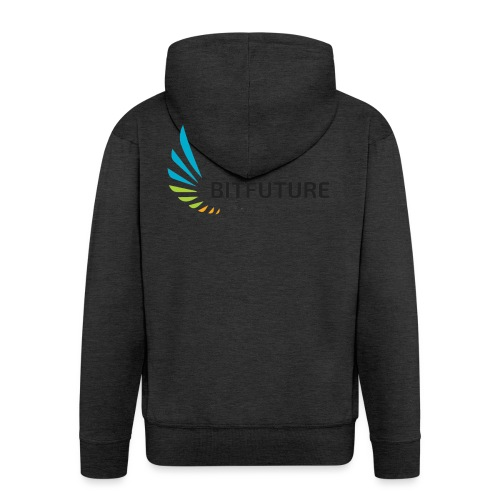 Team BitFuture - Männer Premium Kapuzenjacke