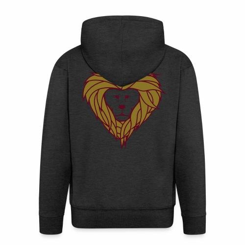 Lior heart - Mannenjack Premium met capuchon