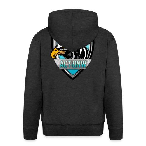 Fan shirt + Logo - Mannenjack Premium met capuchon