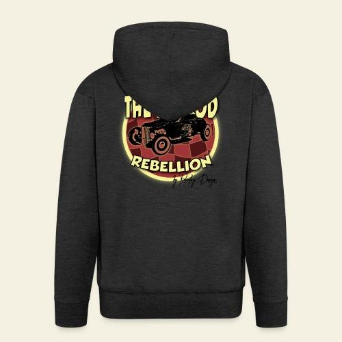 hotrod rebellion - Herre premium hættejakke