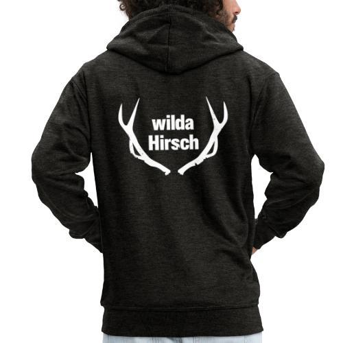 Wilda Hirsch - Männer Premium Kapuzenjacke
