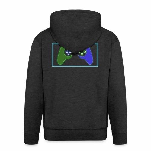 Rational Gamers - Men's Premium Hooded Jacket
