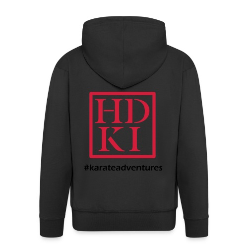 HDKI karateadventures - Men's Premium Hooded Jacket