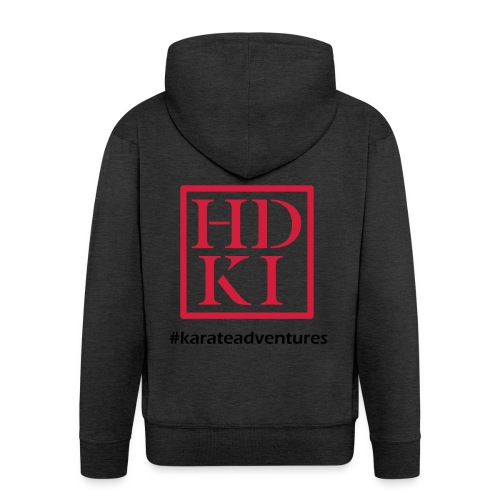 HDKI karateadventures - Men's Premium Hooded Jacket