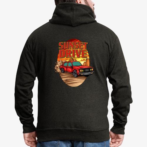 Sunset Drive - Veste à capuche Premium Homme