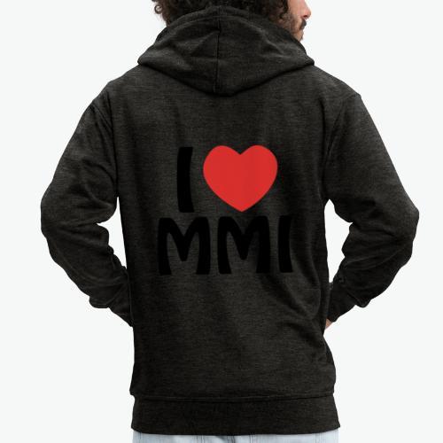 I love MMI - Veste à capuche Premium Homme