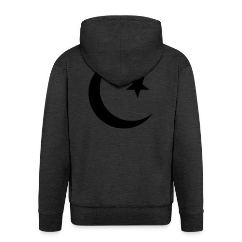 islam-logo - Men's Premium Hooded Jacket