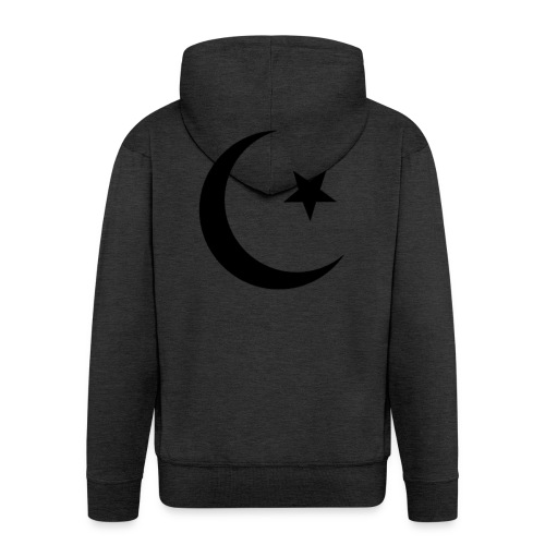 islam-logo - Men's Premium Hooded Jacket