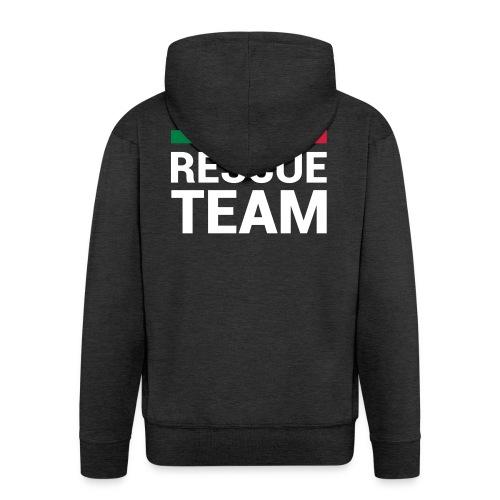 ITA Rescue Team - Felpa con zip Premium da uomo
