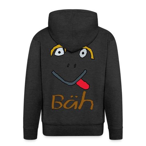 Gesicht Baeh - Männer Premium Kapuzenjacke