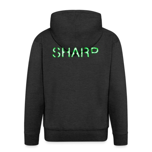Sharp Clan black hoodie - Men's Premium Hooded Jacket