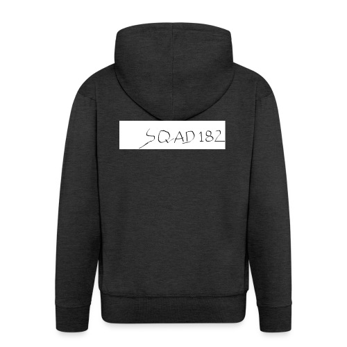 SQUAD 182 MERCH - Men's Premium Hooded Jacket