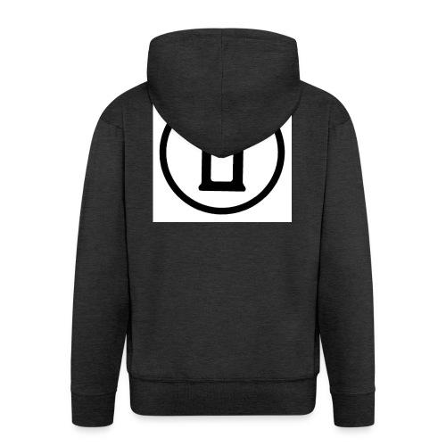 Logone010-jpg - Felpa con zip Premium da uomo