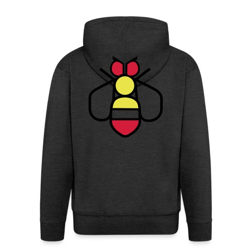Bee - Men's Premium Hooded Jacket