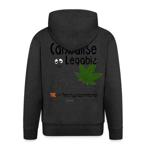 Cannalise Legabiz - it's all about cannabis - Mannenjack Premium met capuchon