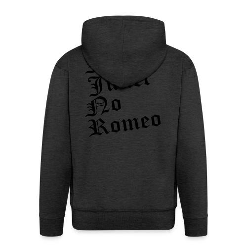 No_Juliet_No_Romeo T-shirt - Felpa con zip Premium da uomo
