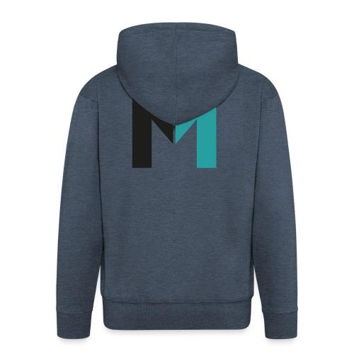 Logo M - Männer Premium Kapuzenjacke