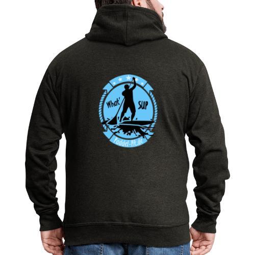 What`SUP. SUP Board Stand Up Paddling Sport - Männer Premium Kapuzenjacke