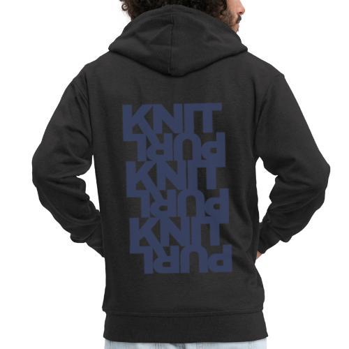 St, dark - Men's Premium Hooded Jacket