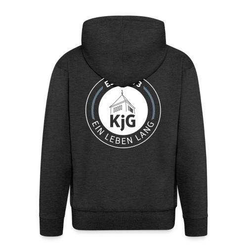 KjG - Ein Leben lang - Männer Premium Kapuzenjacke