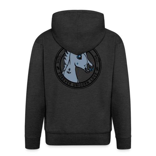 Colt - Unicorn Love (onwhite) - Männer Premium Kapuzenjacke