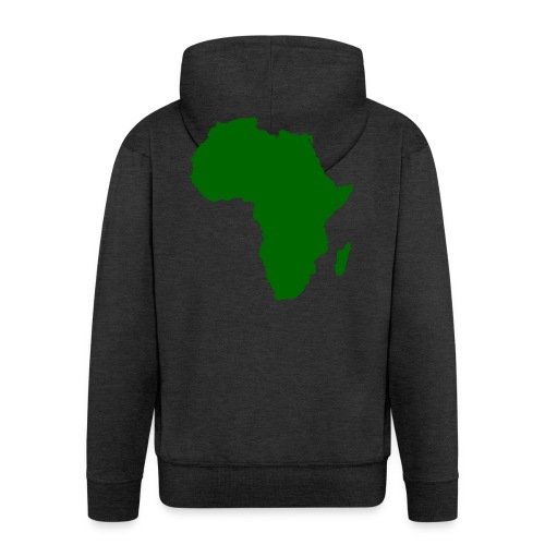 African styles green - Men's Premium Hooded Jacket