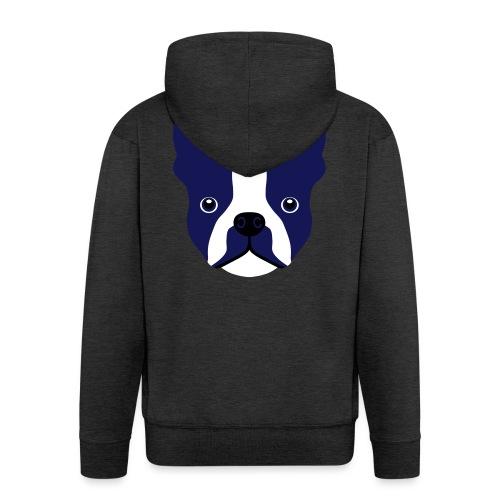 Französische Bulldogge - Männer Premium Kapuzenjacke