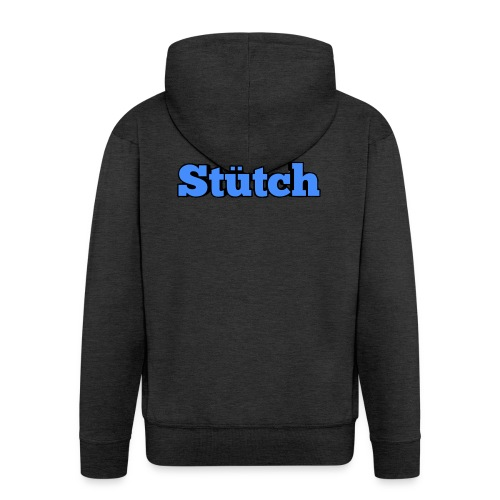 Stütch Name Design - Männer Premium Kapuzenjacke