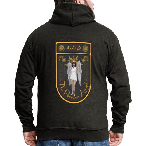 Persian Angel Anahita - Farsi Angel - Men's Premium Hooded Jacket
