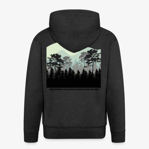 wearenature2 - Men's Premium Hooded Jacket