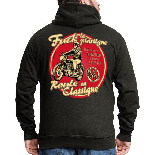 N 181 FUCK - Veste à capuche Premium Homme