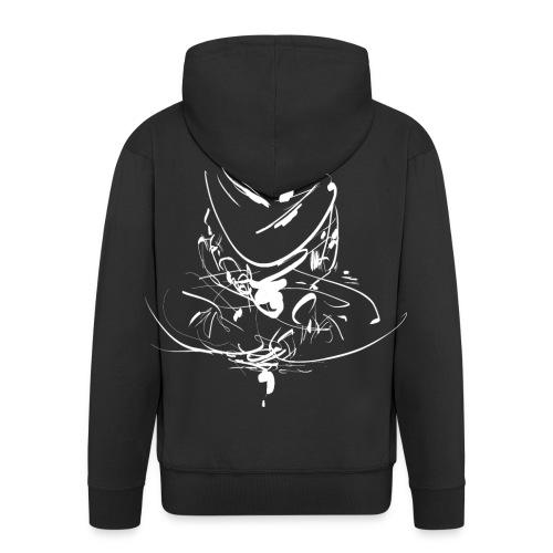 Iaido Samurai Zen Meditation - Men's Premium Hooded Jacket