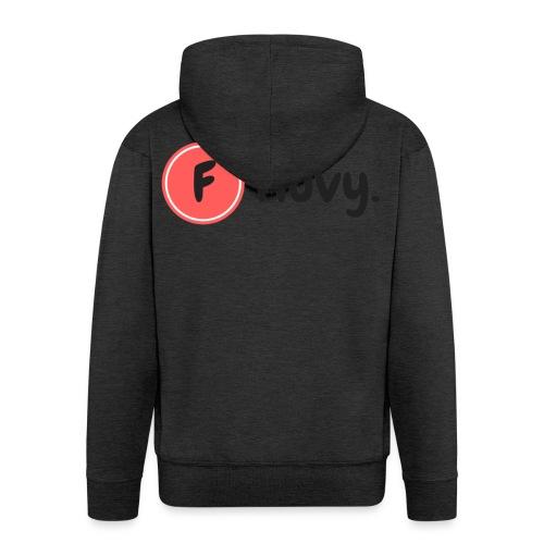 Fluvy Basic - Veste à capuche Premium Homme
