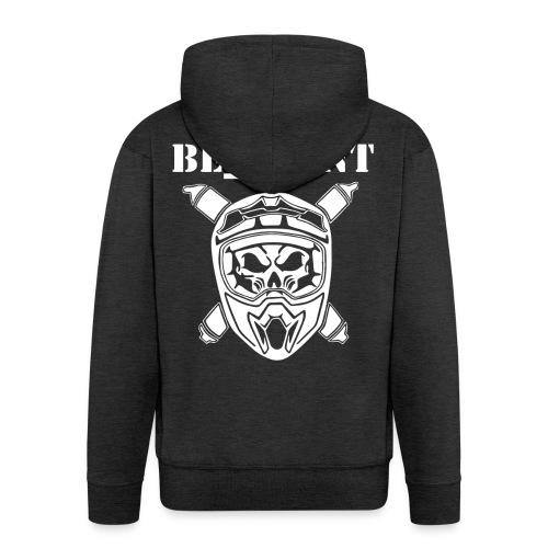 Be_FronT - Männer Premium Kapuzenjacke