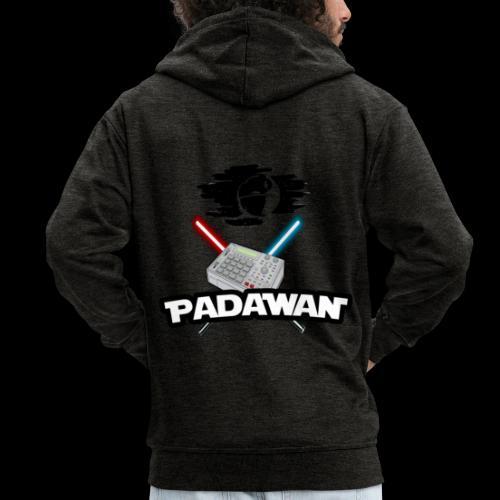 Padawan Noir - Veste à capuche Premium Homme