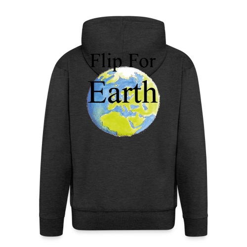 Flip For Earth T-shirt - Premium-Luvjacka herr