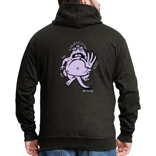 Fearful Monster - Men's Premium Hooded Jacket