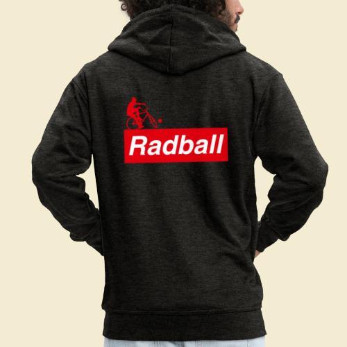 Radball   Red - Männer Premium Kapuzenjacke