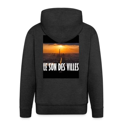 Le Son Des Villes : By night - Veste à capuche Premium Homme