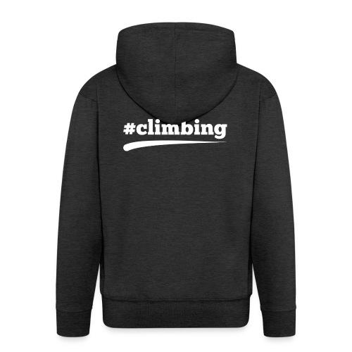 #CLIMBING - Männer Premium Kapuzenjacke