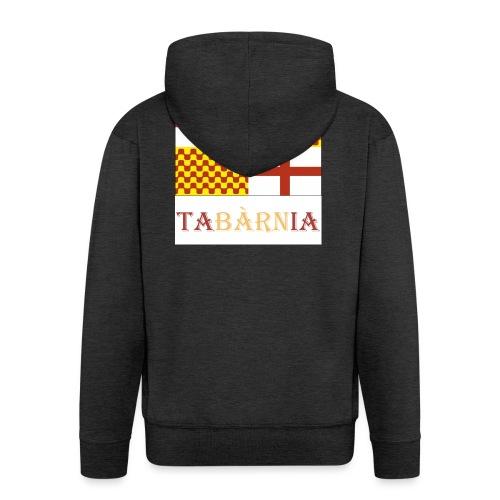 Bandera Tabarnia con escudo y nombre - Chaqueta con capucha premium hombre