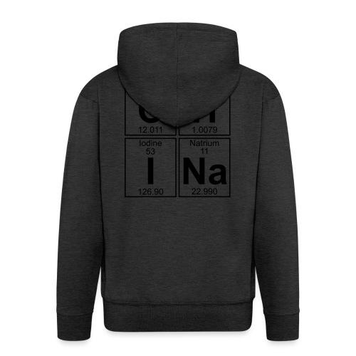 C-H-I-Na (china) - Full - Men's Premium Hooded Jacket