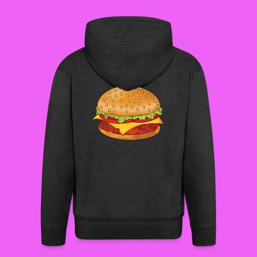 hamburguesa - Chaqueta con capucha premium hombre